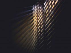 blinds dark light shadow
