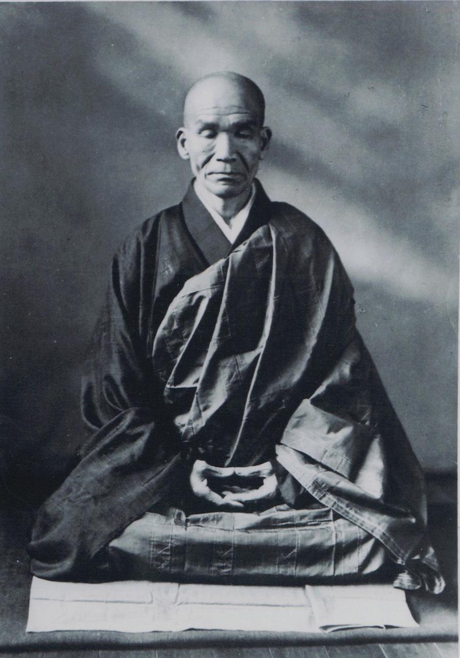 Kodo Sawaki in Zazen