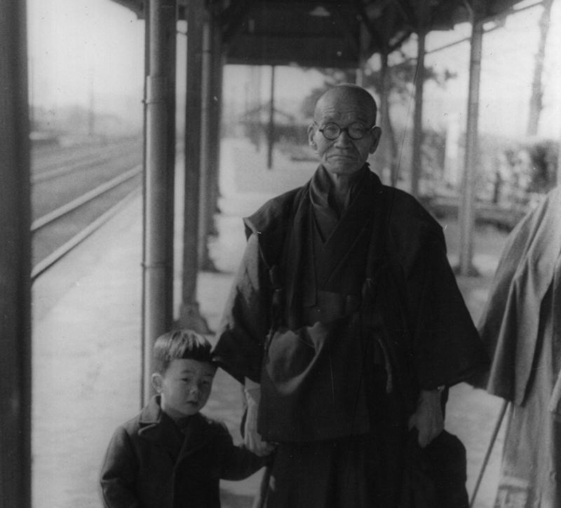 Sawaki and boy