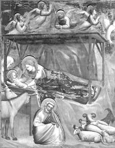 Giotto - Nativity