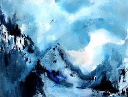 Places I'd Like to Live: Ice Blue Mountains
